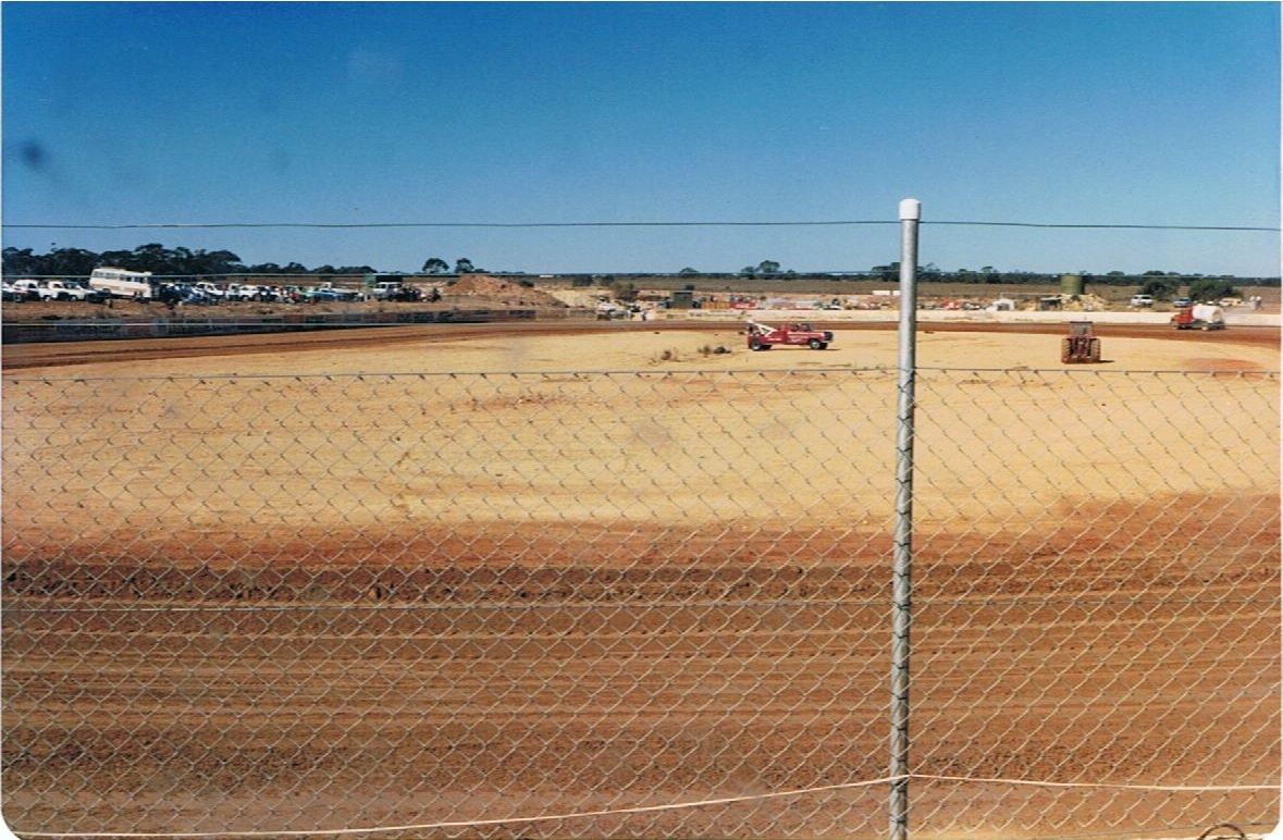 A view of the track from turn 4.